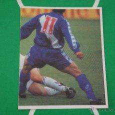 Cromos de Fútbol: CROMO DE FUTBOL:REAL MADRID C.F.,LASA,(SIN PEGAR),Nº112,LIGA MAGIC BOX,1994-1995/94-95. Lote 143706673