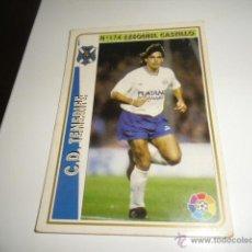 Cromos de Fútbol: FICHAS DE LA LIGA 94 95 TENERIFE EZEQUIEL CASTILLO. Lote 235052600