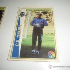 Cromos de Fútbol: FICHAS DE LA LIGA 94 95 TENERIFE BULJUBASICH. Lote 235052720