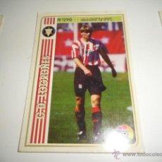 Cromos de Fútbol: FICHAS DE LA LIGA 94 95 LOGROÑES MARKOVIC. Lote 235052950