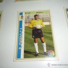 Cromos de Fútbol: FICHAS DE LA LIGA 94 95 OVIEDO MORA. Lote 235053085