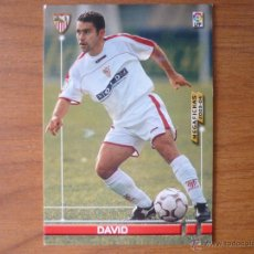 Cromos de Fútbol: MEGAFICHAS DE LA LIGA 2003 2004 PANINI Nº 260 DAVID (SEVILLA) - FUTBOL CROMO 03 04 . Lote 44816076