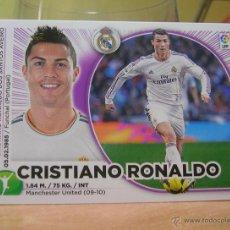 Cromos de Fútbol: EDICIONES ESTE 2014-2015 14 15 Nº 16 CRISTIANO RONALDO (REAL MADRID) SIN PEGAR. Lote 96086035