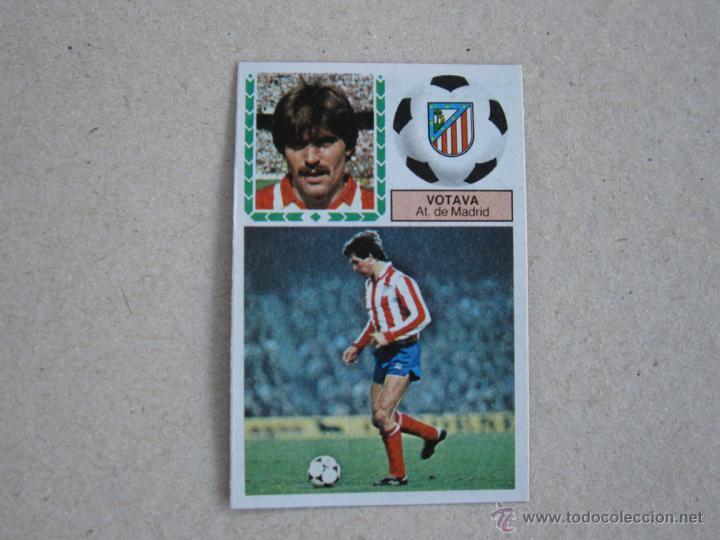 ESTE 83-84 VOTAVA ATLETICO MADRID 1983-1984 (Coleccionismo Deportivo - Álbumes y Cromos de Deportes - Cromos de Fútbol)