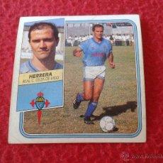 Cromos de Fútbol: CROMO DE FUTBOL HERRERA CELTA DE VIGO LIGA 89 90 1989 1990 NUNCA PEGADO EDICIONES ESTE BAJA. Lote 44910427