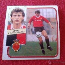 Cromos de Fútbol: CROMO DE FUTBOL RIVAS MALLORCA LIGA 89 90 1989 1990 NUNCA PEGADO EDICIONES ESTE BAJA. Lote 44910456