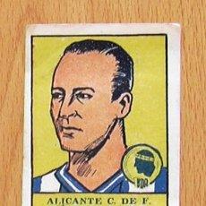 Cromos de Fútbol: ALICANTE - HÉRCULES - 8 TATONO - EDITORIAL VALENCIANA 1941-1942, 41-42. Lote 44930523
