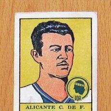 Cromos de Fútbol: ALICANTE - HÉRCULES - 4 ALBERTO - EDITORIAL VALENCIANA 1941-1942, 41-42. Lote 44930561