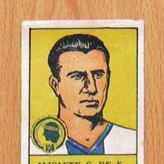 Cromos de Fútbol: ALICANTE - HÉRCULES - 14 SALAS - EDITORIAL VALENCIANA 1941-1942, 41-42. Lote 44930599