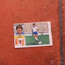 Cromos de Fútbol: ULTIMOS FICHAJES Nº 22 TEMPORADA 82-83: SALVA REAL ZARAGOZA. Lote 45021487