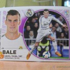 Cromos de Fútbol: EDICIONES ESTE 2014-2015 14 15 Nº 13 BALE (REAL MADRID) SIN PEGAR. Lote 96085990