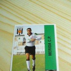 Cromos de Fútbol: CUELLAR MERIDA PANINI LIGA FUTBOL 1995 1996 95 96 SIN PEGAR . Lote 56225315