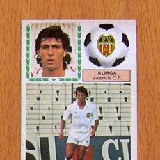 Cromos de Fútbol: VALENCIA - FICHAJE 39, ALIAGA - EDICIONES ESTE 1983-1984, 83-84. Lote 45222829