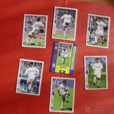 Cromos de Fútbol: LOTE 7 CROMOS REAL MADRID: ROBERTO CARLOS, BAPTISTA... (MUNDICROMO; LFP, 2004-005) ¡COLECCIONISTA!. Lote 45231821