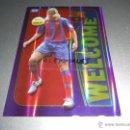 Cromos de Fútbol: 876 MAXI LOPEZ WELCOME RAYAS VERTICALES F.C. BARCELONA CROMOS MUNDICROMO LIGA FUTBOL 2004 2005 04 05. Lote 45269531