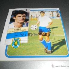 Cromos de Fútbol: LEMA BAJA TENERIFE CROMOS ALBUM EDICIONES ESTE LIGA FUTBOL 1989 1990 89 90. Lote 45269639