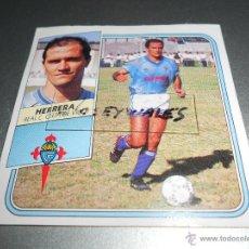 Cromos de Fútbol: HERRERA BAJA CELTA VIGO CROMOS ALBUM EDICIONES ESTE LIGA FUTBOL 1989 1990 89 90. Lote 45269676