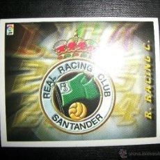 Cromos de Fútbol: ESCUDO DEL RACING DE SANTANDER ALBUM ESTE LIGA 2003 - 2004 ( 03 - 04 ). Lote 205679326