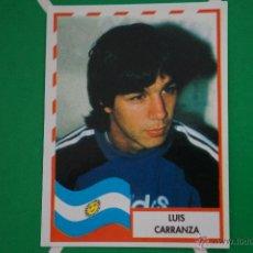 Cromos de Fútbol: CROMO DE FÚTBOL:LUIS CARRANZA DE ARGENTINA,(SIN PEGAR),Nº18,COPA AMERICA 1995. Lote 255924100