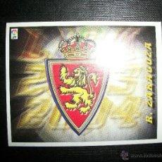 Cromos de Fútbol: ESCUDO DEL ZARAGOZA ALBUM ESTE LIGA 2003 - 2004 ( 03 - 04 ). Lote 205679337
