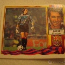 Cromos de Fútbol: 95-96 ESTE. ANGOY. COLOCA BARCELONA. NUNCA PEGADO. Lote 45384379