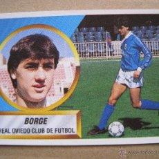 Cromos de Fútbol: CROMO FUTBOL LIGA ESTE 88 89 1988 89 - BAJA - BORGE OVIEDO SIN PEGAR. Lote 45431397