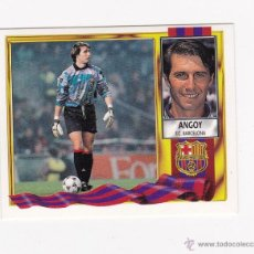 Cromos de Fútbol: ANGOY (BARCELONA) COLOCA - EDICIONES ESTE 1995 1996 LIGA 95 96 NUNCA PEGADO. Lote 45557274
