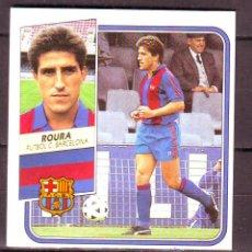 Cromos de Fútbol: ESTE LIGA.1989 1990.89 90.ROURA.FC BARCELONA.DIFICIL.NUNCA PEGADO.EXCELENTE ESTADO.. Lote 45651896