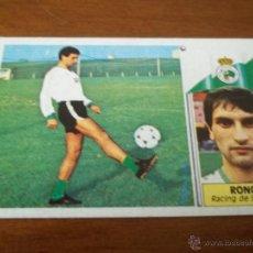 Cromos de Fútbol: CROMO LIGA 86-87 - RONCAL / RACING - EDICIONES ESTE. Lote 45667842