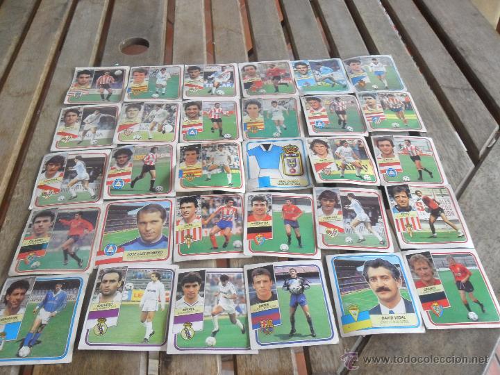 LOTE 30 CROMOS DE EDICIONES ESTE TEMPORADA 1989 1990 89 90 (Coleccionismo Deportivo - Álbumes y Cromos de Deportes - Cromos de Fútbol)