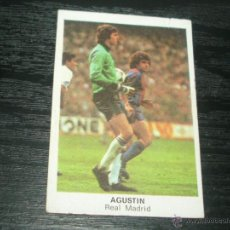 Cromos de Fútbol: -FUTBOL 84 CROMOS CANO : AGUSTIN ( REAL MADRID ) . Lote 45768693