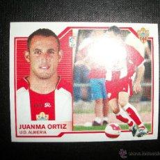 Cromos de Fútbol: JUANMA ORTIZ DEL ALMERIA ALBUM ESTE LIGA 2007 - 2008 ( 07 - 08 ). Lote 260853740