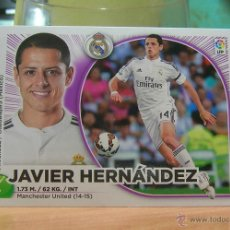 Cromos de Fútbol: EDICIONES ESTE 2014-2015 14 15 Nº 20 JAVIER HERNANDEZ (REAL MADRID) SIN PEGAR. Lote 96086088