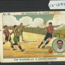 Cromos de Fútbol: MEANA - SPORTING DE GIJON - UN CAMPEONATO DE FUTBOL NUM· 12 - CHOCOLATE AMATLLER (CD-1097). Lote 46036739