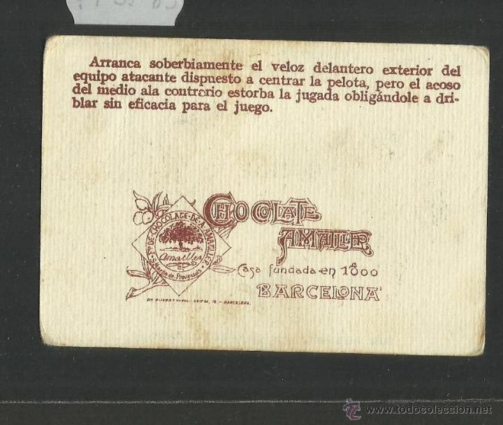 Cromos de Fútbol: MEANA - SPORTING DE GIJON - UN CAMPEONATO DE FUTBOL NUM· 12 - CHOCOLATE AMATLLER (CD-1097) - Foto 2 - 46036739
