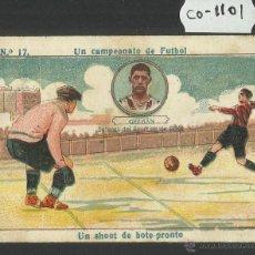 Cromos de Fútbol: GERMAN - SPORTING DE GIJON - UN CAMPEONATO DE FUTBOL NUM· 17 - (CD-1101). Lote 46036882