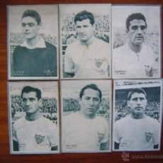 Cromos de Fútbol: SEVILLA C.F. - 12 CROMOS DIFERENTES - COLECCIÓN DICEN 1958 - 1959 - INCLUYE LISTADO. Lote 46117702