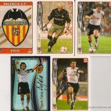 Cromos de Fútbol: CROMOS FÚTBOL DIARIO AS LIGA 2005 ( LOTE 5 CROMOS) . Lote 46175037