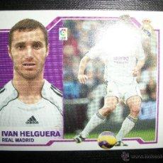 Cromos de Fútbol: IVAN HELGUERA BAJA DEL REAL MADRID ALBUM ESTE LIGA 2007 - 2008 ( 07 - 08 ). Lote 289685303
