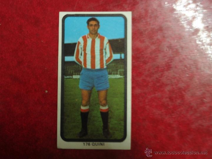 CROMO DE RUIZ ROMERO 74-75. Nº 176 QUINI (SPORTING GIJÓN) segunda mano