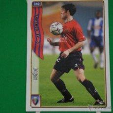 Cromos de Fútbol: CROMO-CARD DE FÚTBOL:MUÑOZ DEL AT.OSASUNA,Nº340,LIGA 2004-2005/04-05,DE MUNDICROMO. Lote 46423964