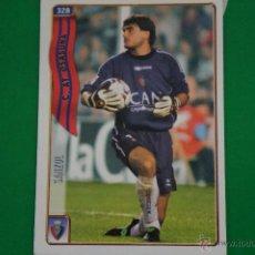 Cromos de Fútbol: CROMO-CARD DE FÚTBOL:SANZOL DEL AT.OSASUNA,Nº328,LIGA 2004-2005/04-05,DE MUNDICROMO. Lote 46424089