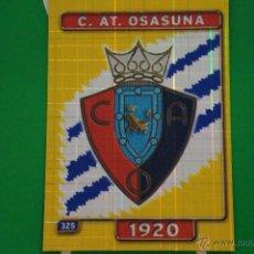 Cromos de Fútbol: CROMO-CARD DE FÚTBOL:ESCUDO DEL AT.OSASUNA,Nº325,LIGA 2004-2005/04-05,DE MUNDICROMO. Lote 46424123