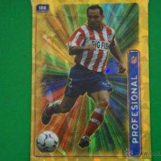 Cromos de Fútbol: CROMO-CARD DE FÚTBOL:SERGI DEL AT.MADRID,Nº188,LIGA 2004-2005/04-05,DE MUNDICROMO. Lote 46424146