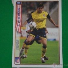 Cromos de Fútbol: CROMO-CARD DE FÚTBOL:PAUNOVIC DEL AT.MADRID,Nº185,LIGA 2004-2005/04-05,DE MUNDICROMO. Lote 46424186
