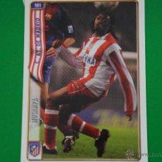 Cromos de Fútbol: CROMO-CARD DE FÚTBOL:MUSAMPA DEL AT.MADRID,Nº181,LIGA 2004-2005/04-05,DE MUNDICROMO. Lote 46424232