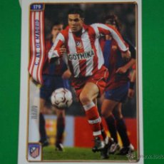 Cromos de Fútbol: CROMO-CARD DE FÚTBOL:NANO DEL AT.MADRID,Nº179,LIGA 2004-2005/04-05,DE MUNDICROMO. Lote 46424248