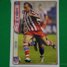 Cromos de Fútbol: CROMO-CARD DE FÚTBOL:LUCCIN DEL AT.MADRID,Nº178,LIGA 2004-2005/04-05,DE MUNDICROMO. Lote 46424269