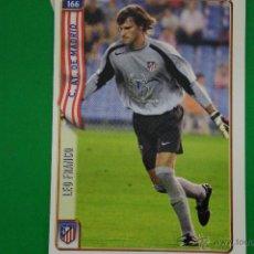 Cromos de Fútbol: CROMO-CARD DE FÚTBOL:LEO FRANCO DEL AT.MADRID,Nº166,LIGA 2004-2005/04-05,DE MUNDICROMO. Lote 46424412