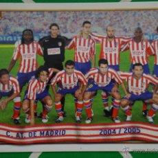 Cromos de Fútbol: CROMO-CARD DE FÚTBOL:EQUIPO DEL AT.MADRID,Nº164,LIGA 2004-2005/04-05,DE MUNDICROMO. Lote 46424424